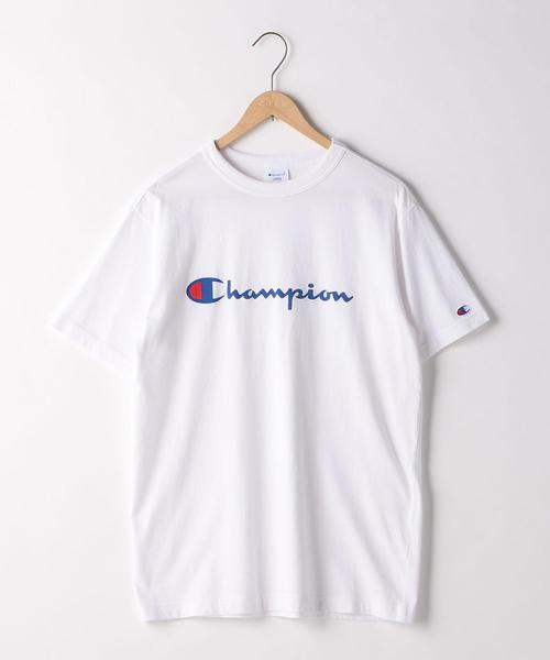 Champion(チャンピオン)ロゴプリントベーシックTシャツ(C3-P302)(一部WEB限定カラー)