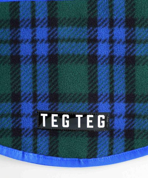 TEG TEG(テグテグ)の「【TEG TEG】TEG KIDS CHECKED NECKWARMER 23222322(ネックウォーマー)」 詳細画像