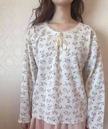 one after another NICE CLAUP(ワンアフター アナザー ナイスクラップ)の【petite】 original print thermal tops(Tシャツ/カットソー)