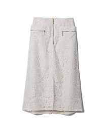REDYAZEL(レディアゼル)のレースZIPタイトスカート(スカート)