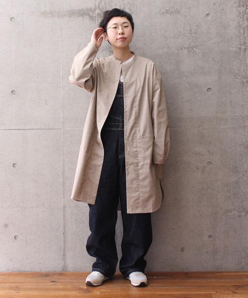 【WEB別注カラー】ブロード/チェック リバーシブル ロングシャツ