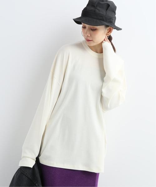 特別セーフ 【CAN T-SHIRT DEMA PEP REY/キャン ペプレイ】LOOSE REY/キャン T-SHIRT L/S DEMA 2CE:Tシャツ(Tシャツ/カットソー)|CAN PEP REY(キャンペプレイ)のファッション通販, 大門町:0c09367f --- steuergraefe.de