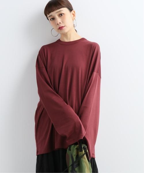 値頃 【CAN PEP REY/キャン ペプレイ】LOOSE T-SHIRT L/S DEMA 2CE:Tシャツ, EYE PLANET 9e6f3182