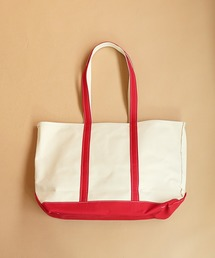 【L.L.Bean/エルエルビーン】CANVAS TOTE BAG LARGE Handles/Regularレッド