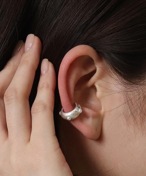Pearl ear cuff・・
