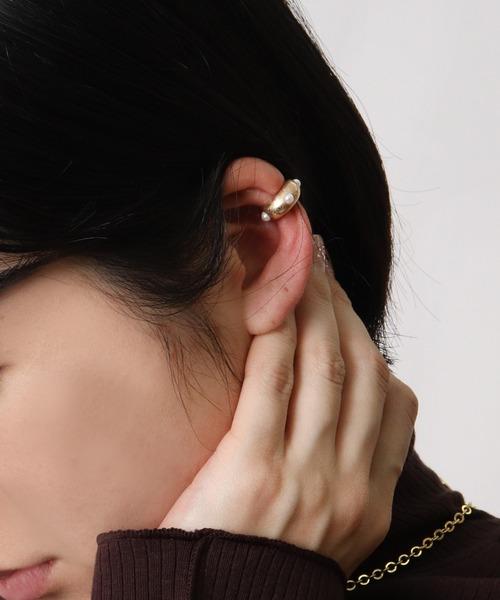 ∴Pearl ear cuff・・ パールイヤーカフ