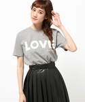 KATHARINE HAMNETT LONDON  | 【LAB】 LOVE / LAB ラブTシャツ(Tシャツ・カットソー)