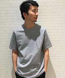 MORGAN HOMME(モルガンオム)のマーセライズミニ裏毛(Tシャツ/カットソー)