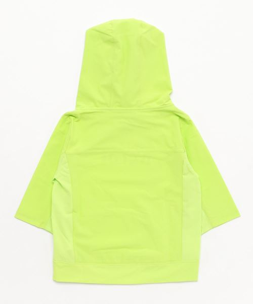 RE/SP Dry Stretch 70% Hooded parker / アールイーエスピー ドライストレッチ7分袖パーカー