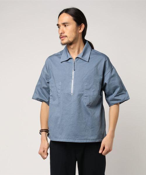 見事な 【セール】bukht/ブフト/half zip shirts/ハーフジップシャツ(シャツ/ブラウス) zip bukht(ブフト)のファッション通販, BLUE NOTE:165c87d0 --- pashminasandwraps.de