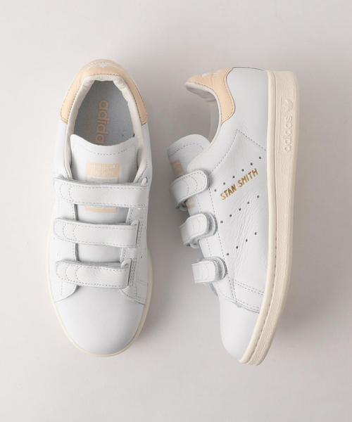 <adidas Originals(アディダス)>STAN SMITH コンフォートベロクロスニーカー