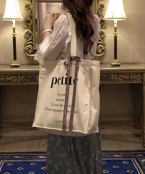 【petite by NICE CLAUP】 tote bag