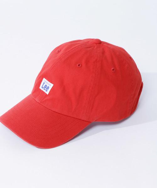 【Lee/リー】 LOW CAP COTTON TWILL ロウ キャップ コットン ツイル ワンポイント 刺繍