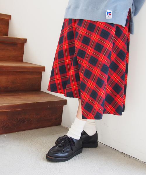 【35%OFF】 ネルチェックズ(スカート)|FRAPBOIS(フラボア)のファッション通販, ヒガシカガワシ:e0567247 --- pan.profil41.de