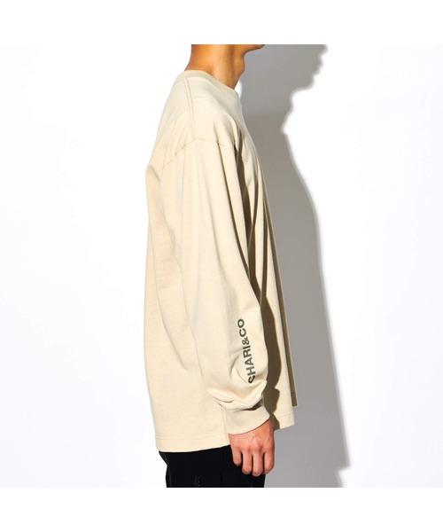 CHARI&CO(チャリアンドコー)の「CHARI&CO U LOCK HEART L/S TEE Tシャツ ロンT(Tシャツ/カットソー)」|詳細画像