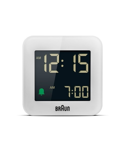 BRAUN Digital Alarm Clock BC08W