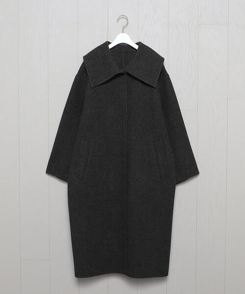 <H>STAND COLLAR COAT/コート