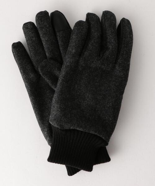 SC GLR フラノ グローブ リブ / 手袋