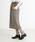 Munich(ミューニック)の「ストレッチウールチェックペンシルスカート(スカート)」 詳細画像