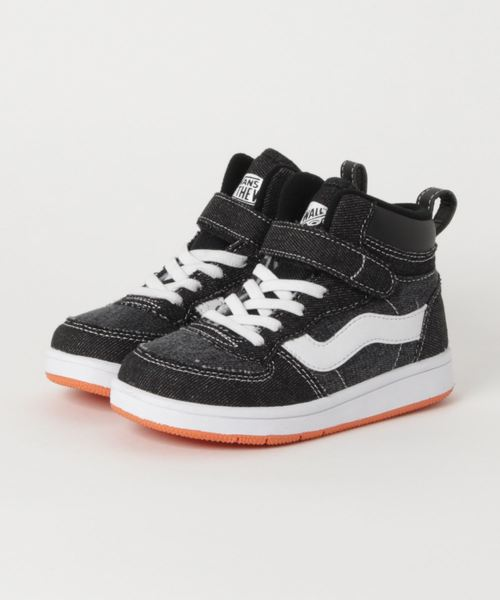 キッズ  VANS ヴァンズ JUMA(17-23) V2023K C.DENIM BLACK/ORANGE