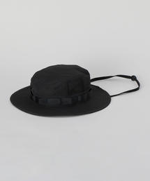 <H>JUNGLE HAT BLACK/ハット