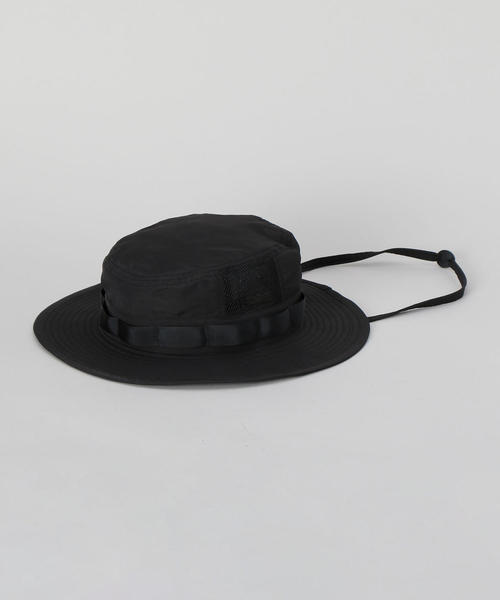 <H>JUNGLE HAT BLACK/ハット