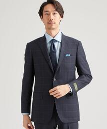 [レダ] REDA チェック柄 2B BW NT HP- スーツジャケット