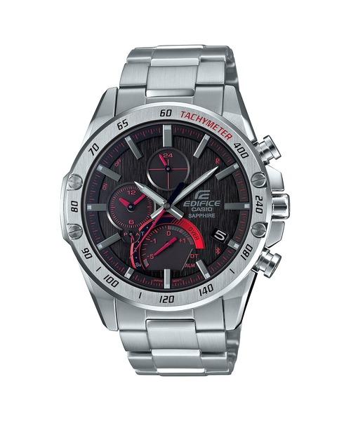 EDIFICE(エディフィス)の「薄型スマートフォンリンクモデル / EQB-1000XYD-1AJF / エディフィス(アナログ腕時計)」|ブラック×シルバー
