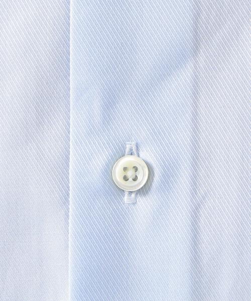 SD:【ALBINI社製生地】ファインフィット ツイル ワイドカラー シャツ