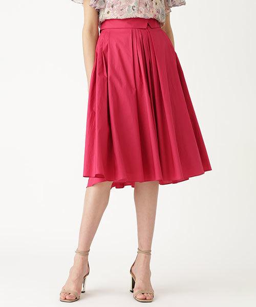 JILLSTUART(ジルスチュアート)の「◆ラウラタックプリーツスカート(スカート)」|ピンク