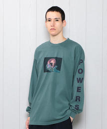 <Powers>WORLD DOMINATION LONG SLEEVE T-SHIRT/Tシャツ.