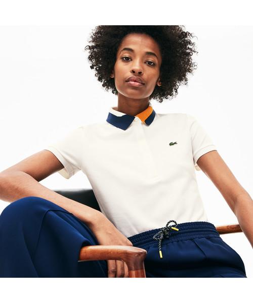 新作からSALEアイテム等お得な商品満載 アシンメトリー襟リブポロ(ポロシャツ)|LACOSTE(ラコステ)のファッション通販, コクスン:704236b5 --- innorec.de