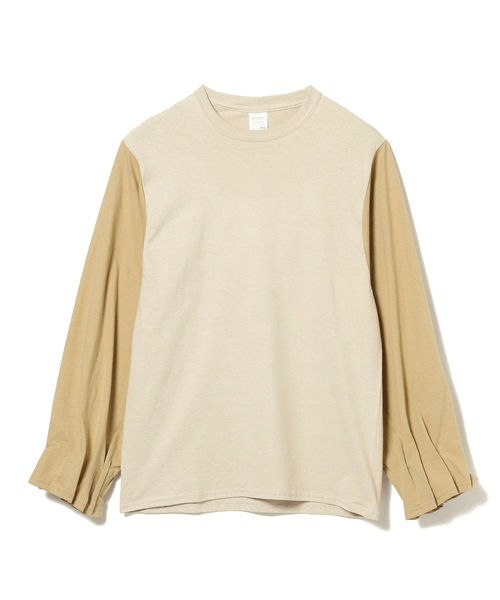 International Gallery BEAMS(インターナショナルギャラリービームス)の「PRE_ / MKS ロングスリーブTシャツ(Tシャツ/カットソー)」|ホワイト系その他7