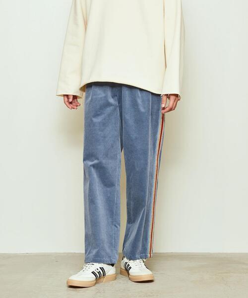 Coohem(コーヘン)KNIT SIDELINE PANTS