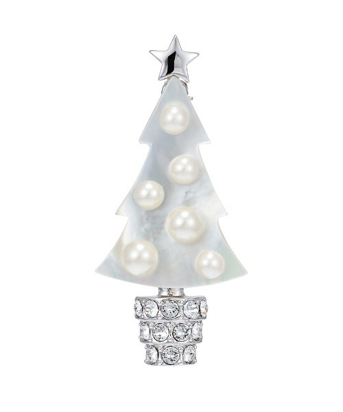 Plus Vendome(プラス ヴァンドーム)クリスマスツリー ブローチ