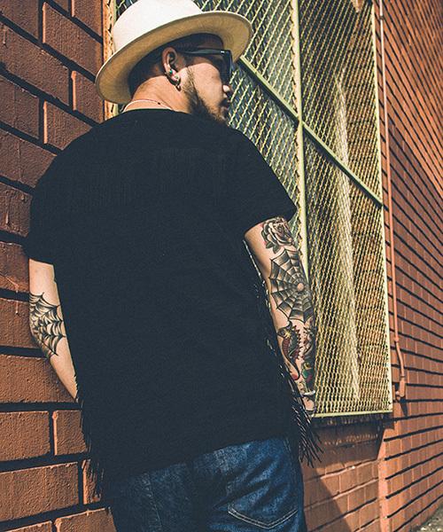 CRIMIE(クライミー)の「FRINGE VINTAGE POCKET T-SHIRTS(Tシャツ/カットソー)」|詳細画像