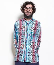 ALDIES(アールディーズ)のMixed Shirt / ミックスドシャツ(シャツ/ブラウス)