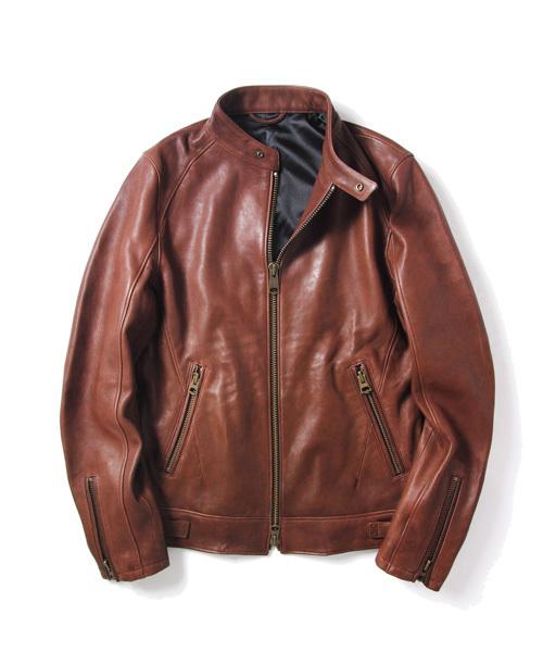 人気ブラドン ラムワックスネイキッドレザー シングルライダース(ライダースジャケット)|JACKROSE(ジャックローズ)のファッション通販, 江東区:0d9486a5 --- blog.buypower.ng