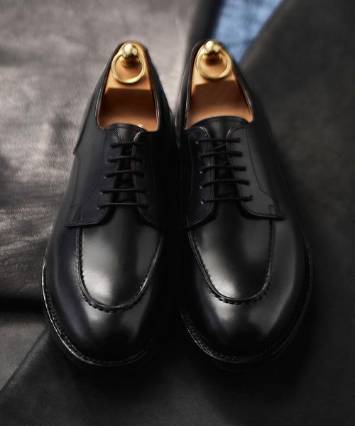 人気の春夏 London Shoe Make/ロンドンシューメイク <デュプイレザー×リッジウェイソール> リッジウェイソール Uチップダービー 603, スタイルデザインラボ b54ffd2f