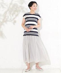 un dix cors(アンディコール)の割繊ギャザースカート(スカート)