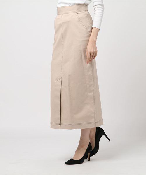 大切な 【セール】チノストレッチロングスカート(スカート)|CHILLEA(キリア)のファッション通販, ニシタガワグン:ccb9a5de --- kredo24.ru