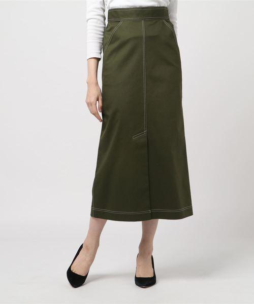 お待たせ! 【セール】チノストレッチロングスカート(スカート)|CHILLEA(キリア)のファッション通販, BORDERS:ac5cd785 --- kredo24.ru