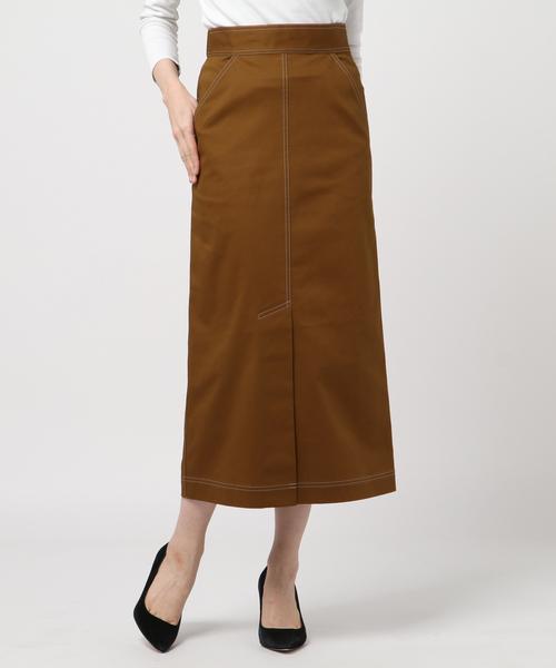 特別セーフ 【セール】チノストレッチロングスカート(スカート)|CHILLEA(キリア)のファッション通販, JSPTOKAI:1cac9670 --- kredo24.ru