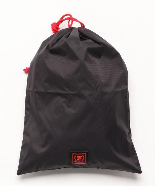 LEGEND WALKER(レジェンドウォーカー)の「巾着袋 Lサイズ(トラベルグッズ)」 ブラック