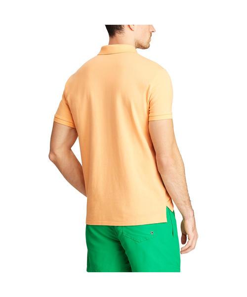 カスタムスリムフィット メッシュ ポロシャツ
