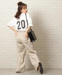 USAコットンナンバーTシャツ(プリントTシャツ/バックプリントTシャツ/フットボールTシャツ)#