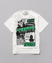 THE CRAMPS/IT'S ON THE STAGE pt Tシャツ【L】