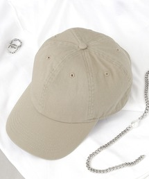 【newhattan】 ニューハッタン キャップ STONE WASHED CAPカーキ