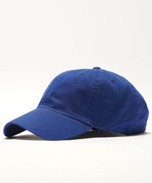【newhattan】 ニューハッタン キャップ STONE WASHED CAPロイヤルブルー