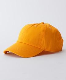 【newhattan】 ニューハッタン キャップ STONE WASHED CAPゴールド
